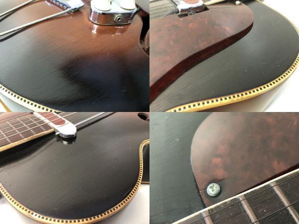■激安スタート■KAY アーチトップギター L8362 ビンテージギター ピックアップ USA De armond/ディ アルモンド MOD 1000■I-284_画像10