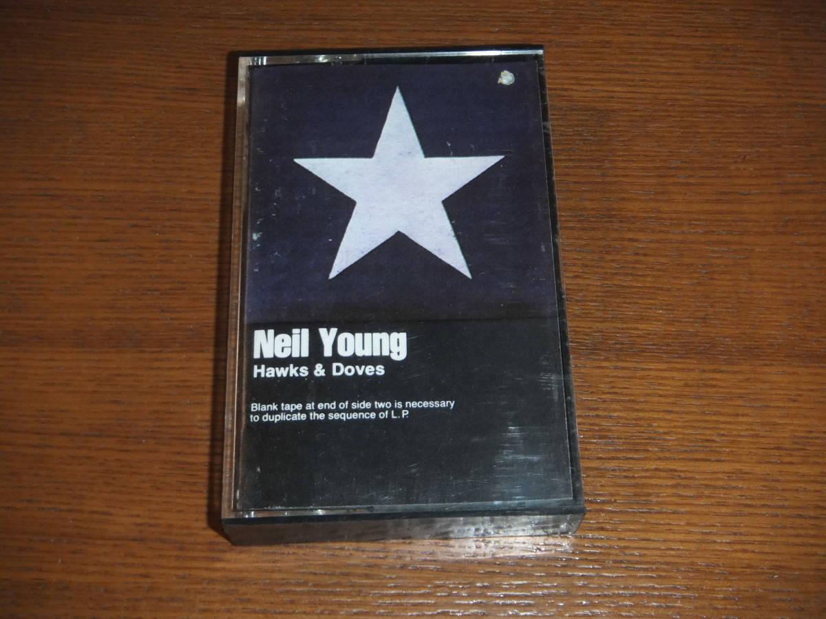 カセットテープ 輸入盤★NEIL YOUNG/Hawks & Doves ニール・ヤング