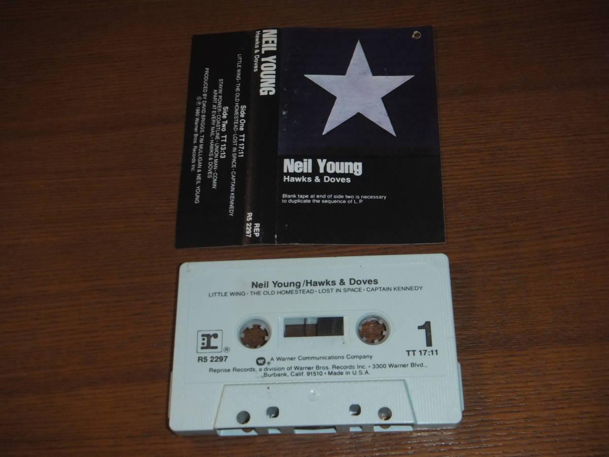 カセットテープ 輸入盤★NEIL YOUNG/Hawks & Doves ニール・ヤング_画像2