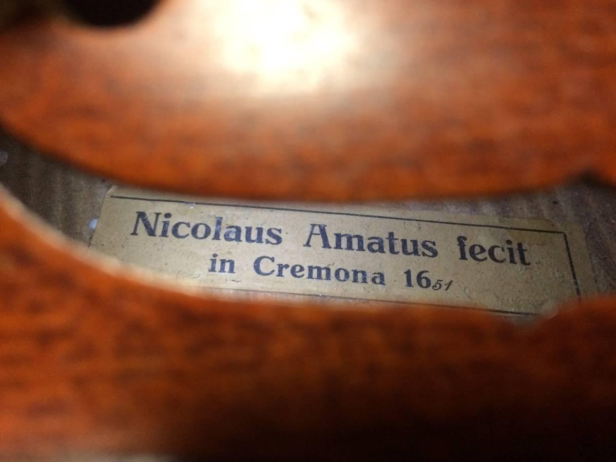 Nicolaus Amatus fecit in Cremona 1651_画像7