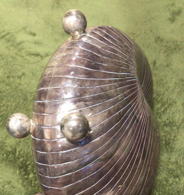 王蟲貝 純銀 オブジェ_画像7