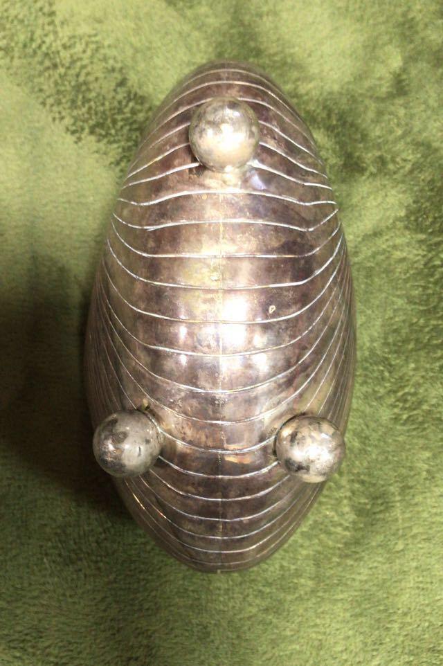 王蟲貝 純銀 オブジェ_画像4