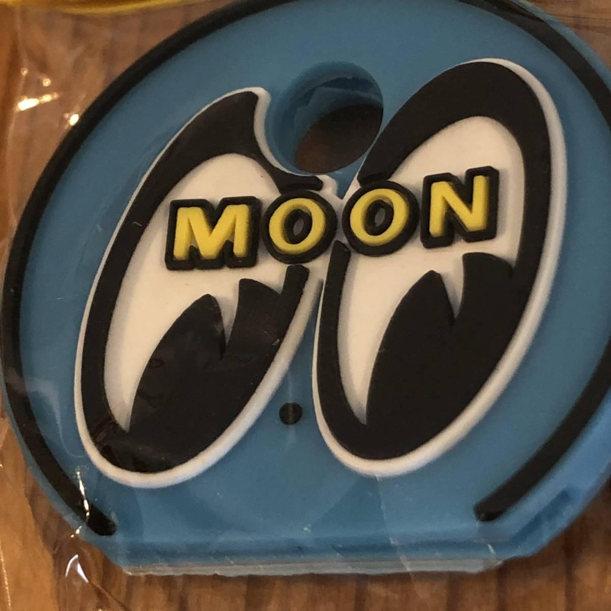mooneyes ムーンアイズ アイボール キーキャップ ライトブルー ぺったんこ 絵柄は立体 キーホルダー moon eyes eyeball 色違いでぜひどうぞ_画像2