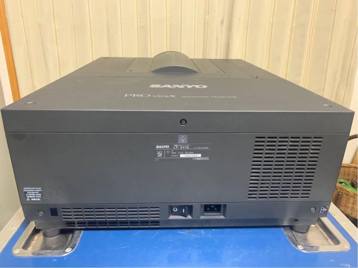 9000ルーメン プロジェクター SANYO LP-XF70 固定単焦点レンズ付き_画像3