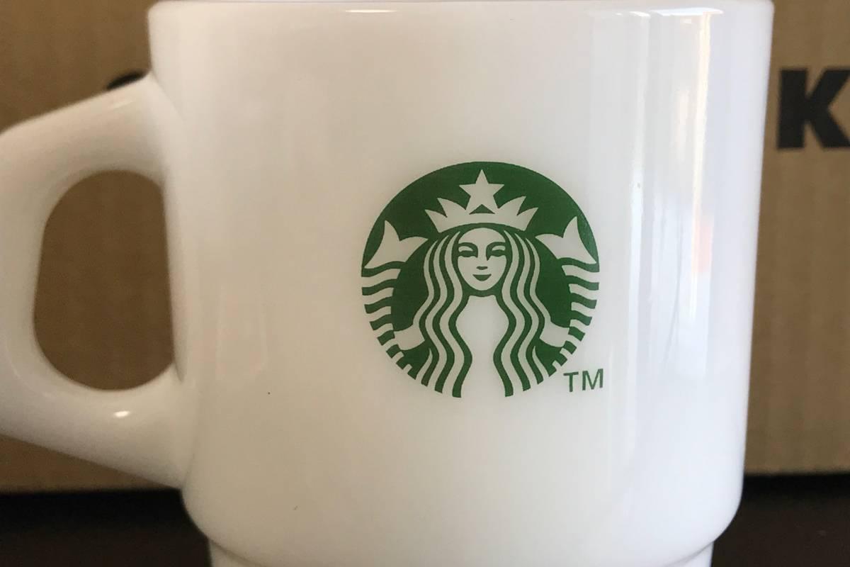 【2個セット】 オンラインストア限定 STARBUCKS グラスマグ スタアバックス珈琲 207ml ファイヤーキング製 マグカップ _画像6