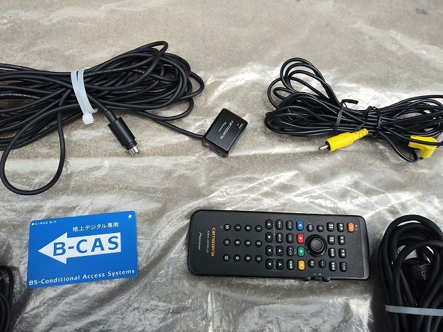 carrozzeria カロッツェリア 地デジチューナー GEX-P07DTV リモコン受光部 CD-SE10 リモコン 中古_画像7