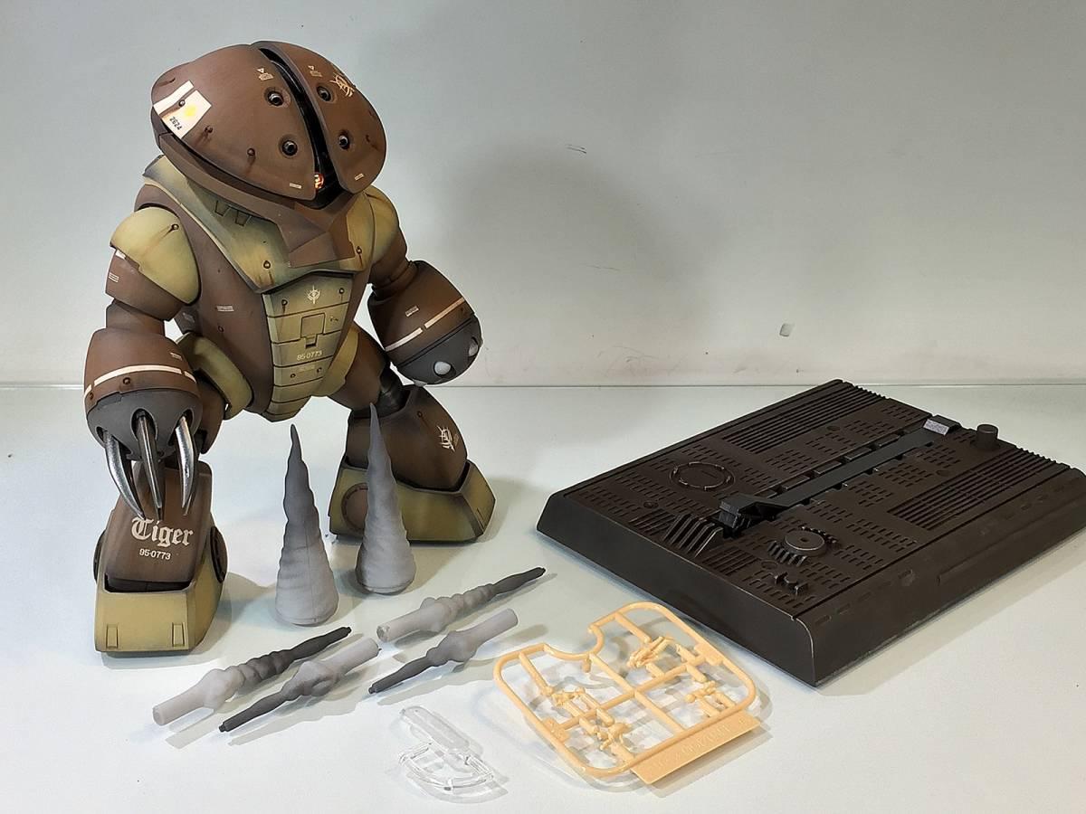 【MG 1/100 MSM-04 アッガイ 戦場風 改修塗装完成品】_画像8