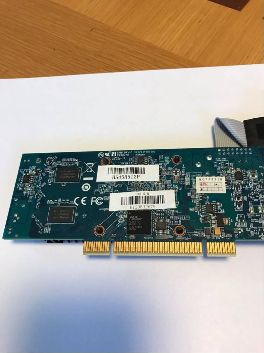 商品名 : 【中古品】HIS RADEON HD5450 『H545H512P』【PCI対応】DDR3 512MB ファンレス・ロープロファイル対応_画像6