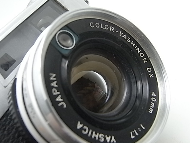 ☆ ヤシカ Yasica エレクトロ 35 GX (分解整備作動個体!)使えるカメラ!☆_画像2
