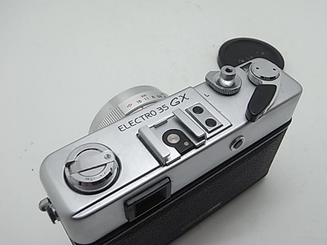 ☆ ヤシカ Yasica エレクトロ 35 GX (分解整備作動個体!)使えるカメラ!☆_画像5