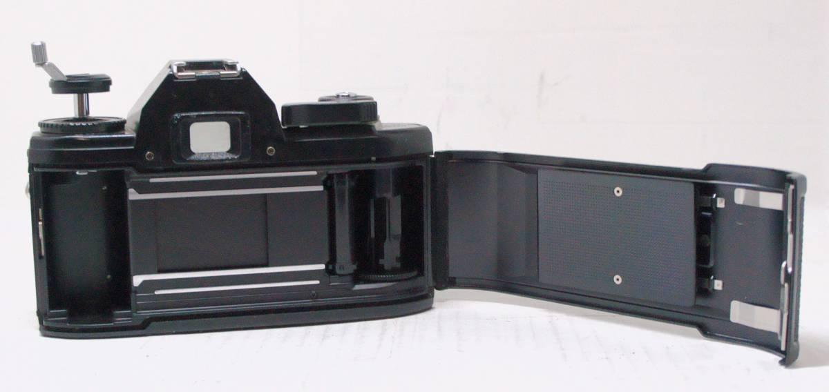 ☆綺麗な外観・送料無料☆ ~フィルムレフ1眼レフカメラ(Fマウント)~ ニコン Nikon EM (A2019D0463)_画像7