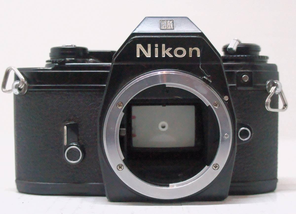 ☆綺麗な外観・送料無料☆ ~フィルムレフ1眼レフカメラ(Fマウント)~ ニコン Nikon EM (A2019D0463)_画像3