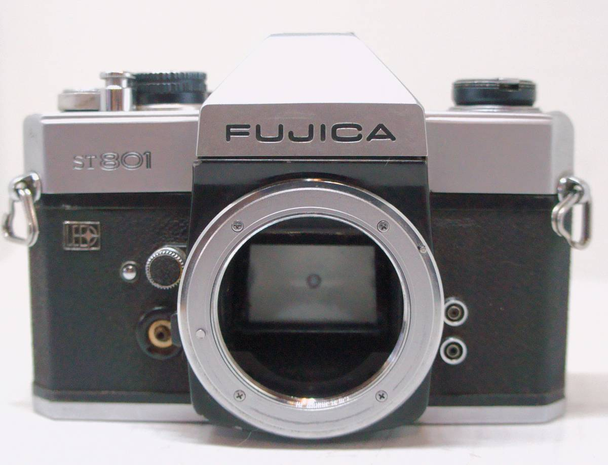 ☆綺麗な外観・送料無料・シャッターOK☆ ~フィルムレフ1眼レフカメラ(M42マウント)~ フジカ FUJICA ST801 (A2019D0476)_画像3