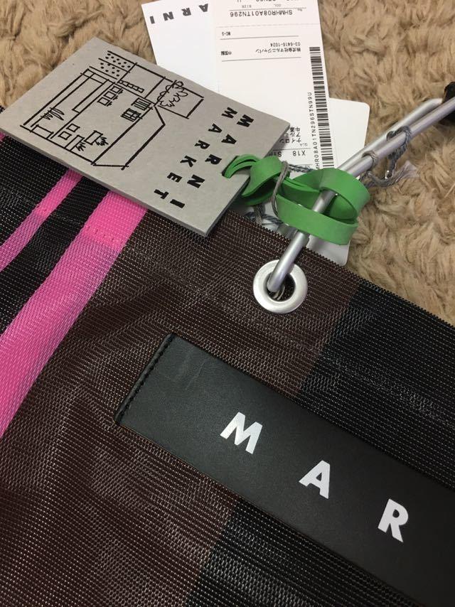 マルニ バッグ ピンク 新品未使用 タグ付き_画像2