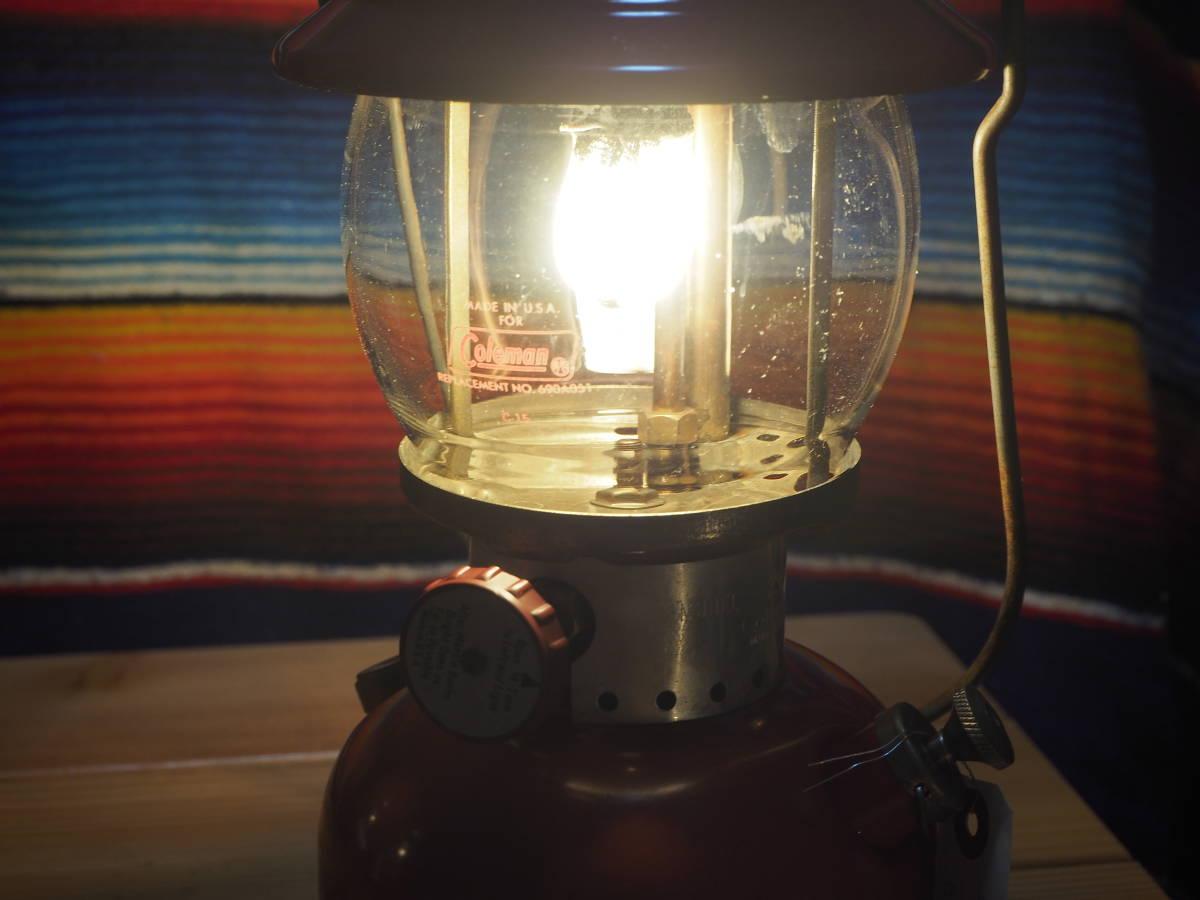 絶好調★1961年2月製 コールマン 200A ランタン (通称イエローライン) すぐ使える実働機です。実機をお見せして燃焼テスト可能。a59_画像8