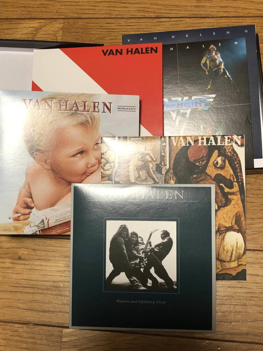 ヴァン・ヘイレン(VAN HALEN)「THE STUDIO ALBUMS 1978-1984」CD6枚組 紙ジャケBOX仕様輸入盤美品 送料無料_画像2