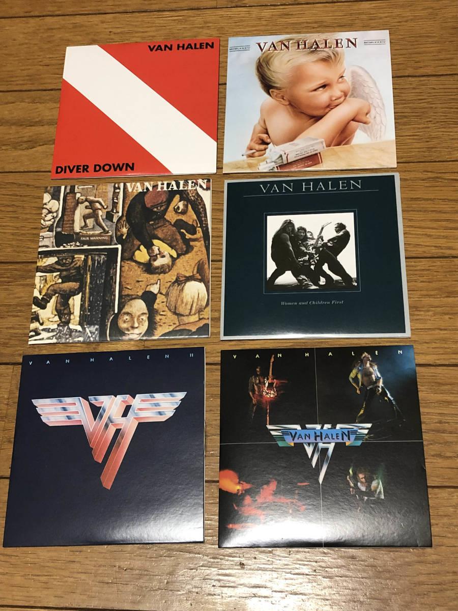 ヴァン・ヘイレン(VAN HALEN)「THE STUDIO ALBUMS 1978-1984」CD6枚組 紙ジャケBOX仕様輸入盤美品 送料無料_画像3