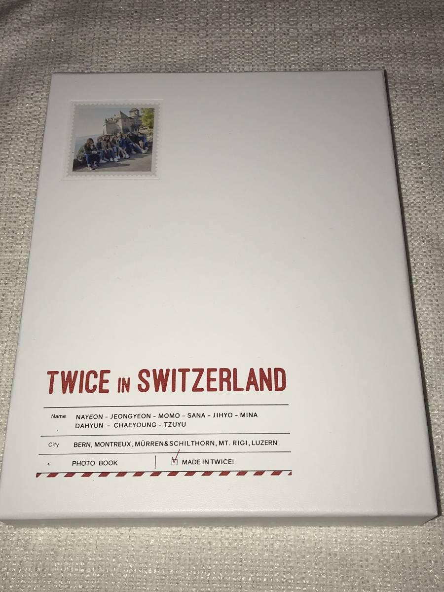 TWICE@韓国発売「TWICE IN SWITZERLAND」Photobook+DVD+Postcard@直筆サイン_画像2
