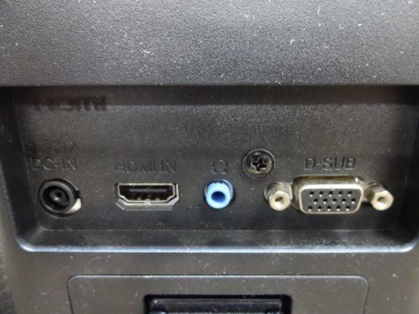 093【中古】LGエレクトロニクス 23MP48HQ-P 23インチ フルHD LEDバックライト 1677万色 HDMI対応 ワイド液晶モニター 1554_画像6