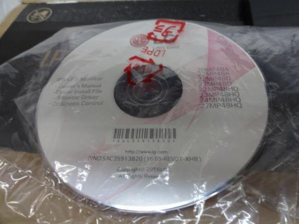 093【中古】LGエレクトロニクス 23MP48HQ-P 23インチ フルHD LEDバックライト 1677万色 HDMI対応 ワイド液晶モニター 1554_画像3