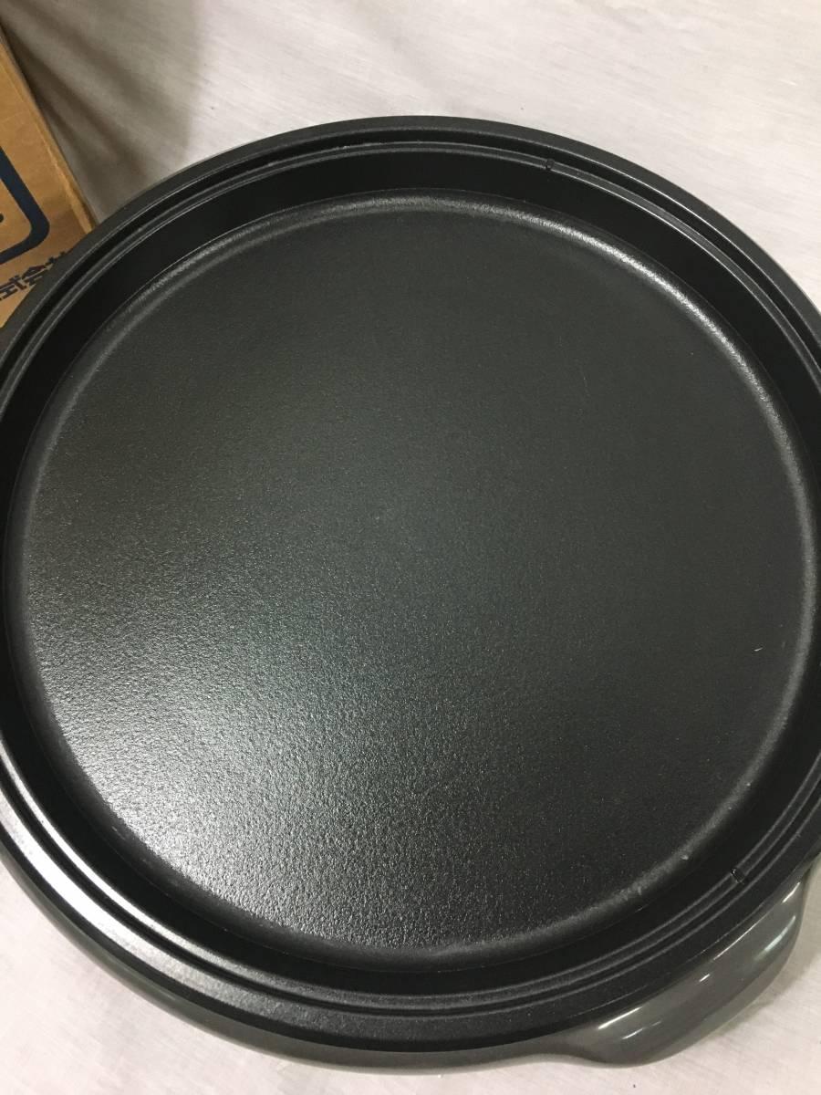シャープ ホットプレート KX-CG12-H ウォームグレー 美品_画像4