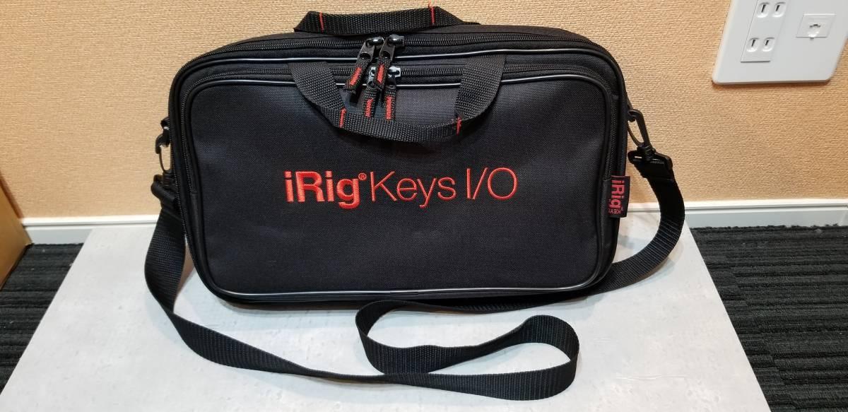 送料無料 IKMultimedia 『iRig Keys I/O 25』 コンパクトMIDIキーボード 完動美品 元箱あり 専用トラベルバッグ(6000円相当)付属_画像4