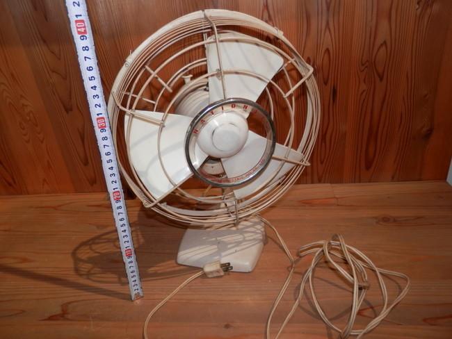 昭和レトロ 40年代のNATIONAL ELECTRIC FAN T-2 扇風機 可動品