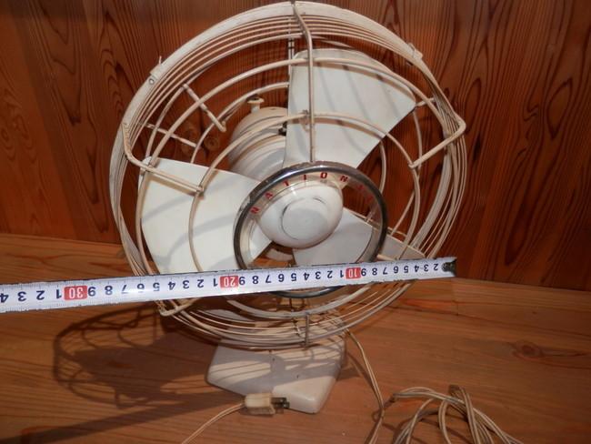 昭和レトロ 40年代のNATIONAL ELECTRIC FAN T-2 扇風機 可動品_画像2