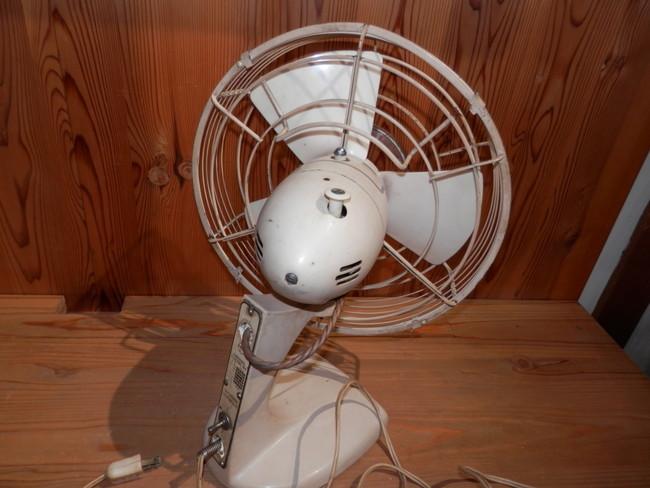 昭和レトロ 40年代のNATIONAL ELECTRIC FAN T-2 扇風機 可動品_画像4