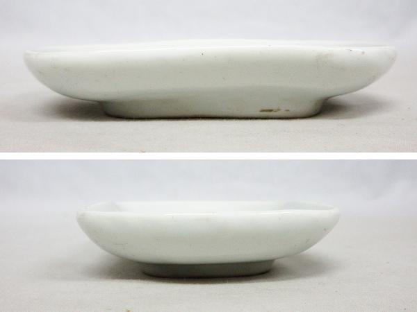 【ひょうたん】砥部焼 愛山窯 虫図の小皿2枚_画像4