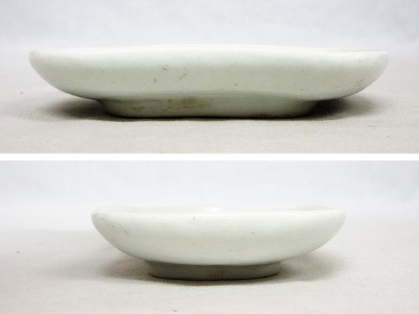 【ひょうたん】砥部焼 愛山窯 虫図の小皿2枚_画像3