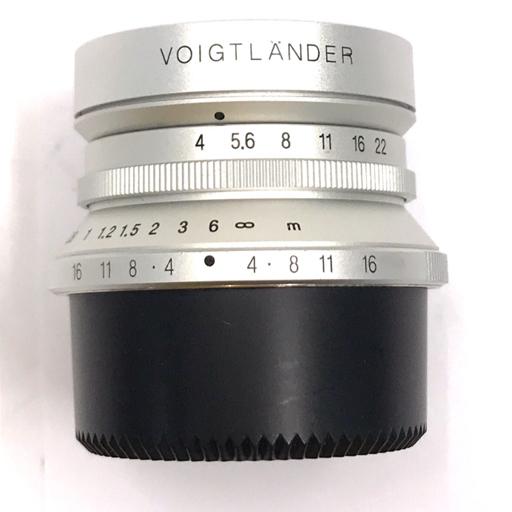 Voigtlander SNAPSHOT-SKOPAR 25mm F4 MC シルバー Leicaマウント フォクトレンダー_画像6
