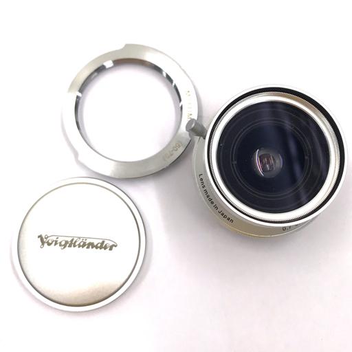 Voigtlander SNAPSHOT-SKOPAR 25mm F4 MC シルバー Leicaマウント フォクトレンダー