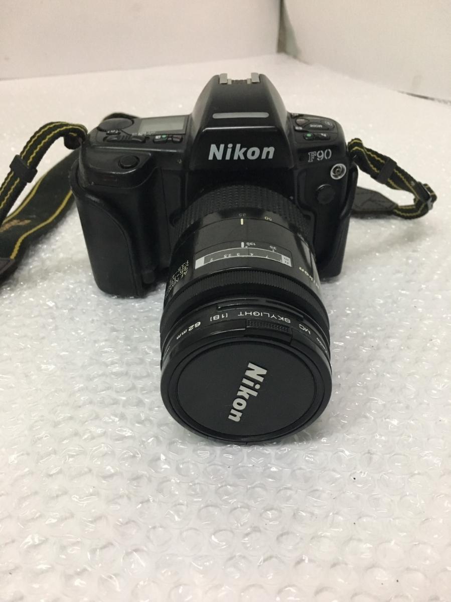 ◇ Nikon ニコン F90 AF NIKKOR 35-135mm 1:3.5-4.5 フィルムカメラ オートフォーカス 一眼レフ カメラ 動作未確認_画像1