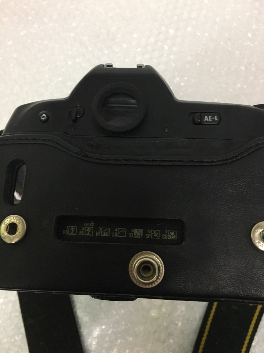 ◇ Nikon ニコン F90 AF NIKKOR 35-135mm 1:3.5-4.5 フィルムカメラ オートフォーカス 一眼レフ カメラ 動作未確認_画像9