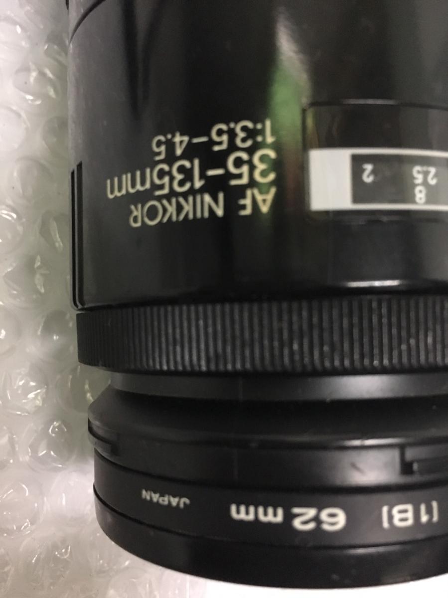 ◇ Nikon ニコン F90 AF NIKKOR 35-135mm 1:3.5-4.5 フィルムカメラ オートフォーカス 一眼レフ カメラ 動作未確認_画像6