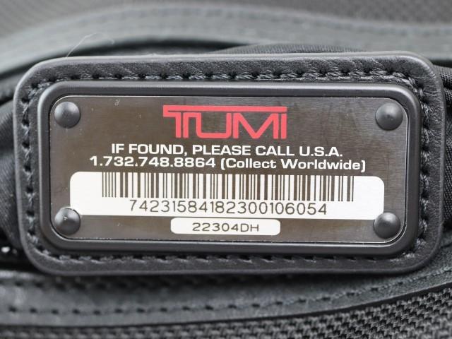 U47 トゥミ TUMI 22304DH ナイロン製 メンズ ショルダーバッグ 肩掛け 多機能 ブラック _画像3