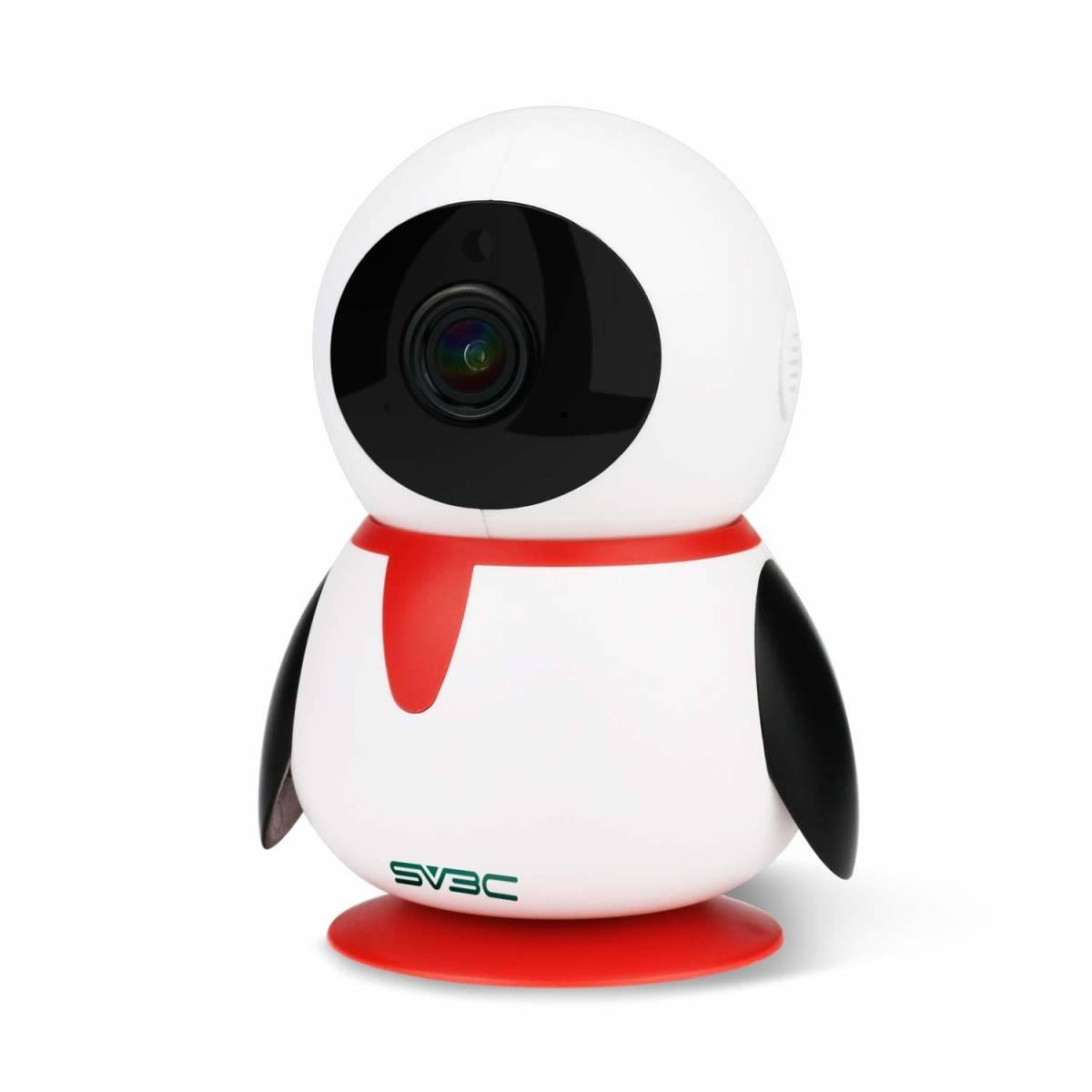 【新品未使用】ネットワークカメラ WiFi 1080P 200万画素 監視カメラ ipカメラ ベビーモニター 双方向音声 暗視機能 録画可能 技適認証済み