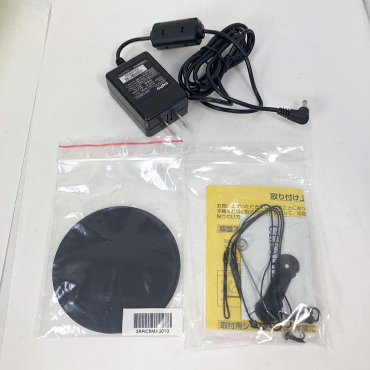 サンヨー Gorilla Lite ゴリラ ライト SSD ポータブルナビゲーション NV-LB50DT 5.0V型 ワンセグ SANYO/カーナビ/5インチ_画像6