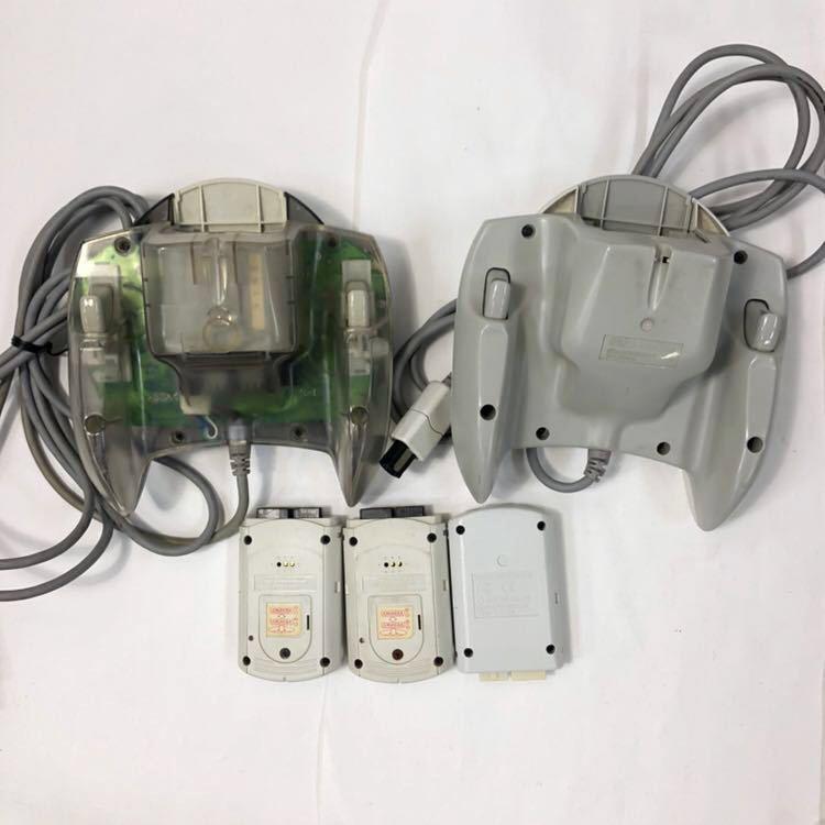 ドリームキャスト 本体 ソフト×14本 コントローラー ジャンクセット 未開封品有 HKT-3000/HKT-7700/ミレニアム2000/ガンダム/セガ_画像7