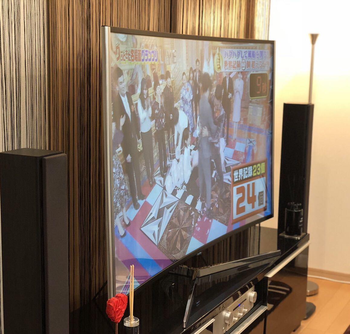 JAPANNEXT JN-VC650UHD 4K 65インチ曲面液晶ディスプレイ テレビ TV PCモニター 世界初! ELED_画像7