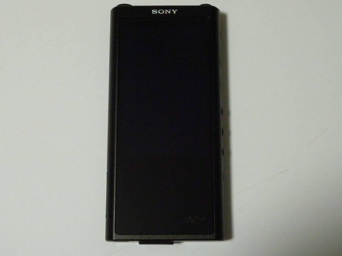新品同様  ソニー ウォークマン NW-ZX300 64GB ブラック + 新品純正専用レザーケース_画像2