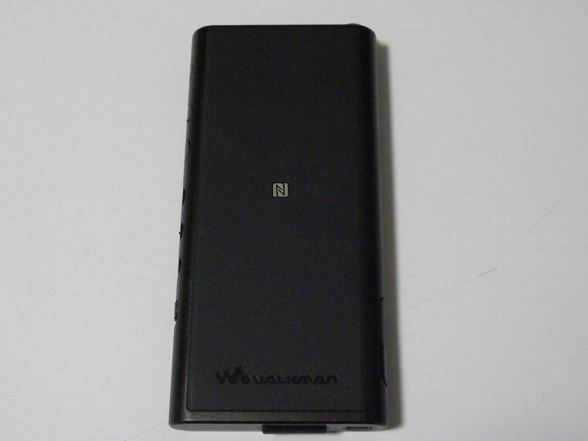 新品同様  ソニー ウォークマン NW-ZX300 64GB ブラック + 新品純正専用レザーケース_画像3