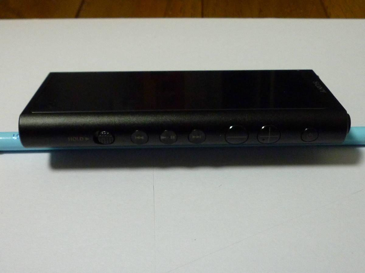 新品同様  ソニー ウォークマン NW-ZX300 64GB ブラック + 新品純正専用レザーケース_画像4