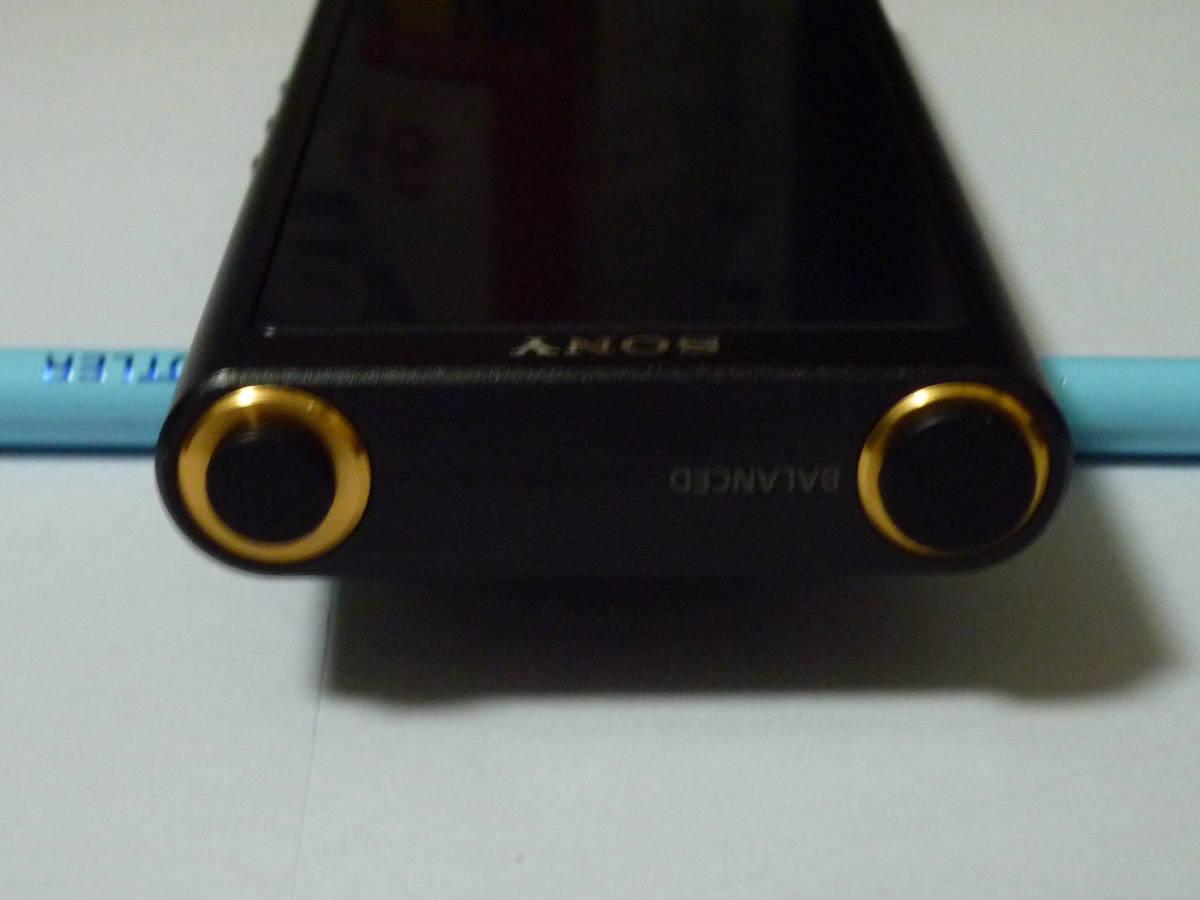 新品同様  ソニー ウォークマン NW-ZX300 64GB ブラック + 新品純正専用レザーケース_画像5