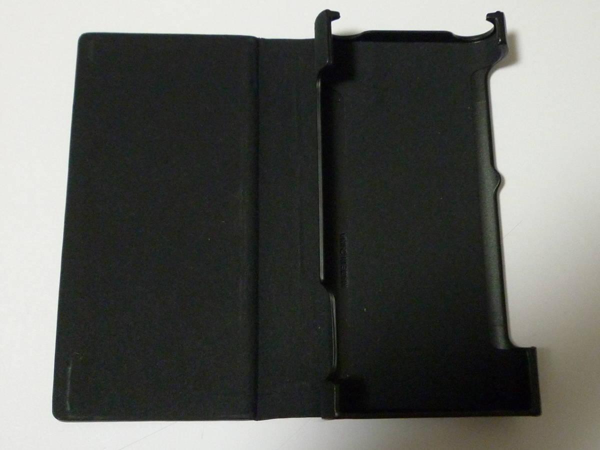 新品同様  ソニー ウォークマン NW-ZX300 64GB ブラック + 新品純正専用レザーケース_画像7