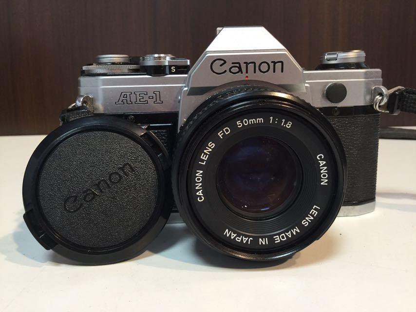 YO03 Canon カメラ AE-1 FD 50mm 1:1.8 キャノン