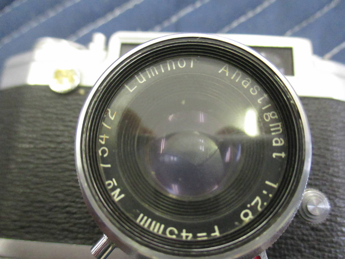 PAX パックス M3 カメラ 1:2.8 F=45mm み6_画像2