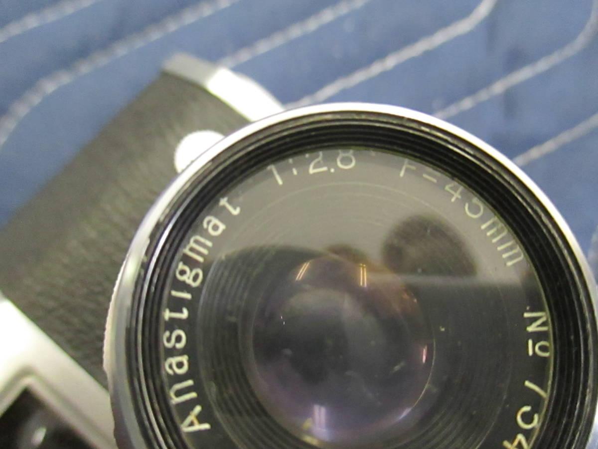 PAX パックス M3 カメラ 1:2.8 F=45mm み6_画像3