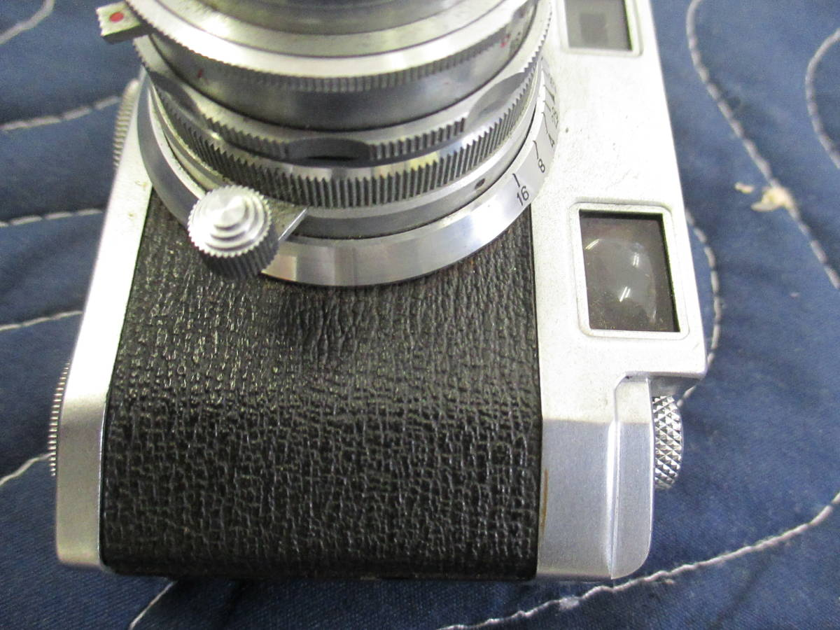 PAX パックス M3 カメラ 1:2.8 F=45mm み6_画像6